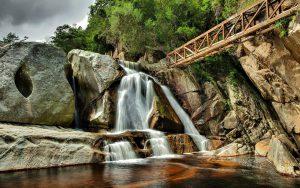 Bild på vattenfall, kopplat till företagshälsovård